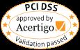 Acertigo PCI-DSS Compliance Seal