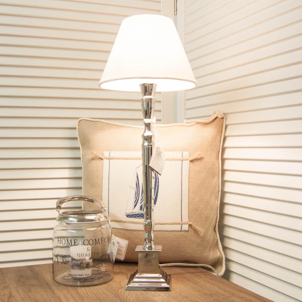 lene bjerre tischlampe mit weissem leinen lampenschirm. Black Bedroom Furniture Sets. Home Design Ideas