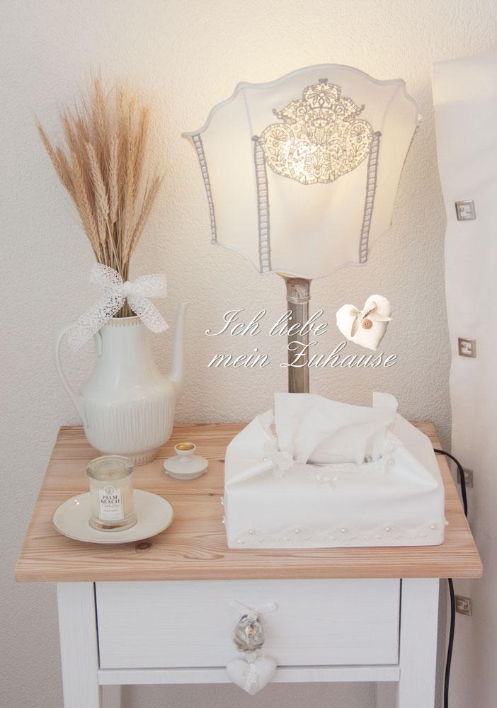 Wie dekoriere ich einen nachttisch im landhausstil ich - Wie dekoriere ich mein schlafzimmer ...