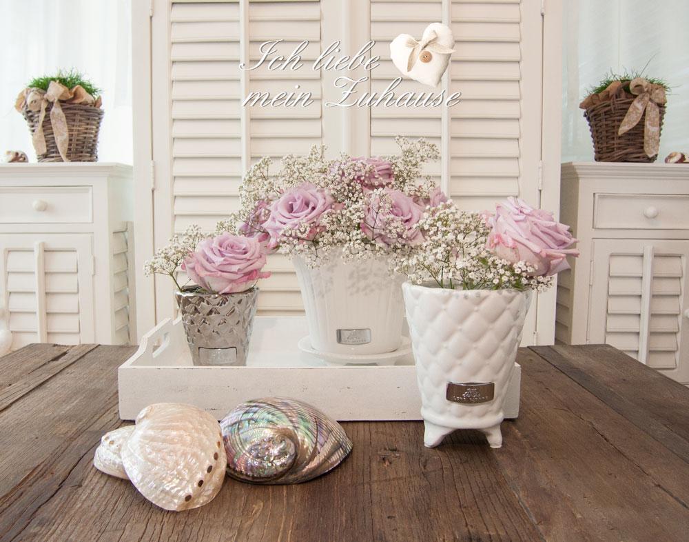 deko w nsche mit keramikt pfen ich liebe mein zuhause landhausstil zum wohlf hlen und geniessen. Black Bedroom Furniture Sets. Home Design Ideas