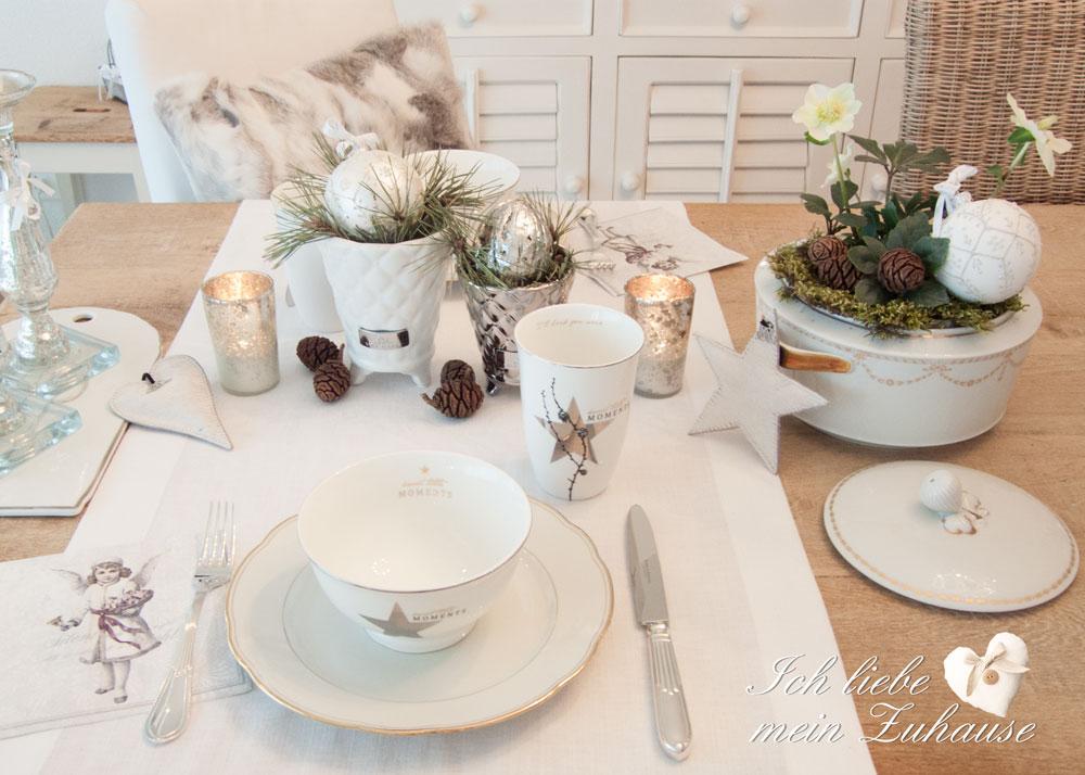 weihnachten ich liebe mein zuhause landhausstil zum wohlf hlen und geniessen. Black Bedroom Furniture Sets. Home Design Ideas