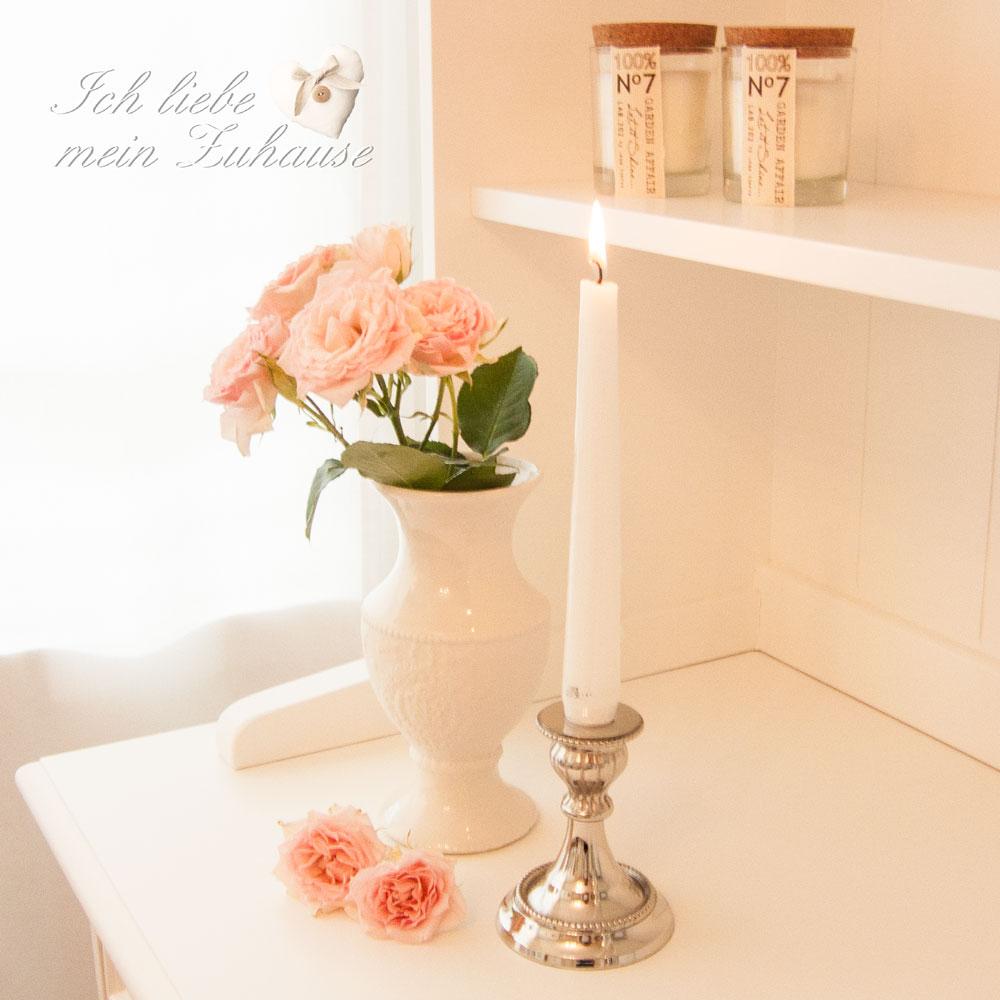 romantik zu zweit ich liebe mein zuhause landhausstil. Black Bedroom Furniture Sets. Home Design Ideas