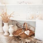 Landhaus-Romantik mit Rentierfell