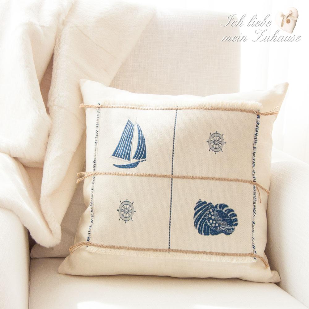 kissen ich liebe mein zuhause landhausstil zum wohlf hlen und geniessen. Black Bedroom Furniture Sets. Home Design Ideas