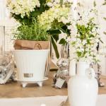 Wie dekoriere ich den Tisch mit Vasen und Kerzen? Teil 1