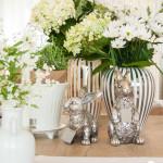 Wie dekoriere ich den Tisch mit Vasen und Kerzen? Teil 2