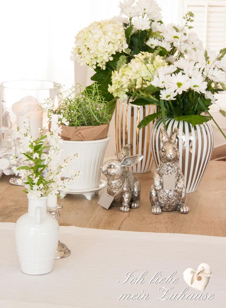 wie dekoriere ich den tisch mit vasen und kerzen teil 2 ich liebe mein zuhause landhausstil. Black Bedroom Furniture Sets. Home Design Ideas