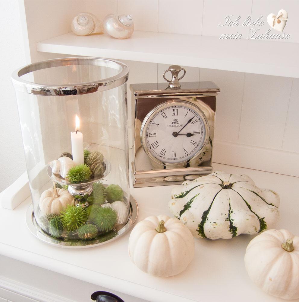 Blog - Herbst-Impressionen in Weiss und Grün