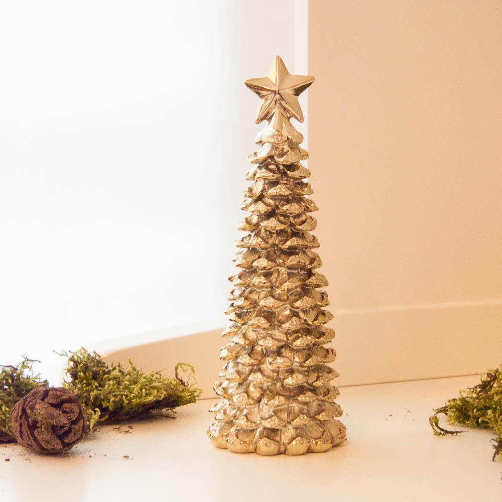 lene bjerre weihnachtsbaum mit stern light gold aus der. Black Bedroom Furniture Sets. Home Design Ideas