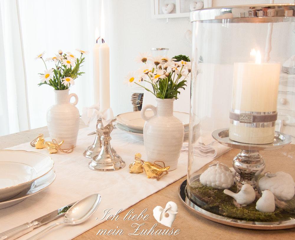 Frühlings-Tischdekoration einfach und schnell » Ich liebe mein ...