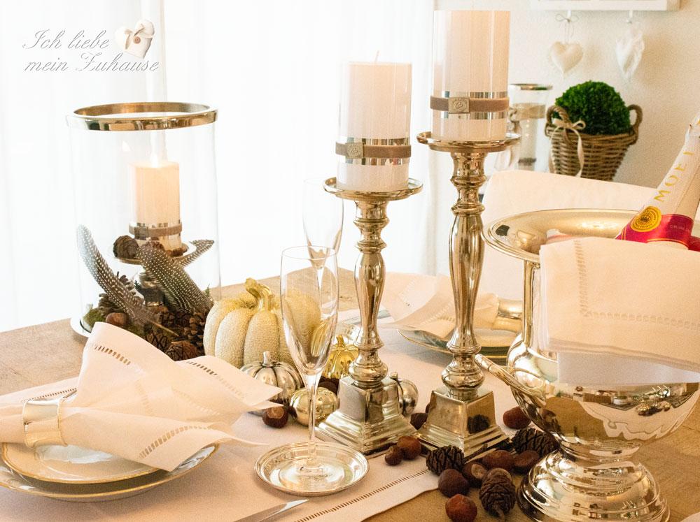 Tischdekoration Ich Liebe Mein Zuhause Landhausstil Zum